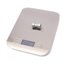 Stainless Steel 5000g/1g 5kg Food Diet Postal Electronic Kitchen Scales Digital  balance Measuring weighing scale