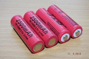 Image 5 - 20 piezas batería recargable de litio, pila recargable con punta de 2500 V, linterna, acumulador de batería recargable, 14500 mAh, 3,7