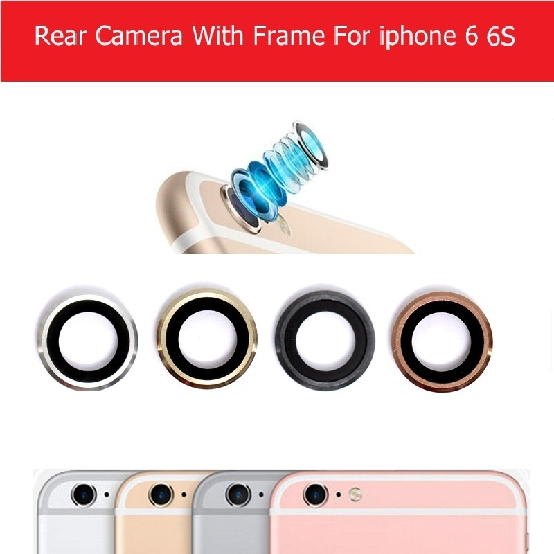 2x Genuine New Rear Camera Glass Lens For Iphone 6 6S 4.7