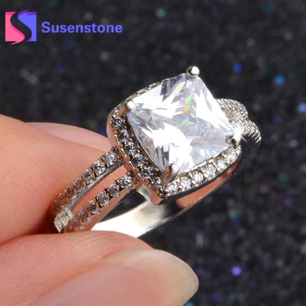 2017 Elegant Ring For Women Engagement Wedding Jewelry ...
