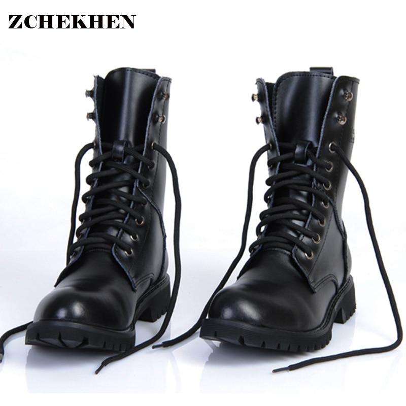 Мужские ботинки из натуральной кожи в стиле милитари, мужские мотоциклетные ботинки для охоты, Повседневная прогулочная обувь, дизайнерски...