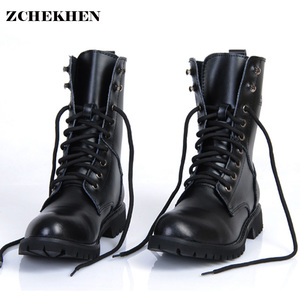 Genuine Leather Men Military B