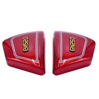 1 par direita & esquerda quadro lateral cobre painéis para suzuki peças da motocicleta gn 250 gn250 gn250 motocicleta peças   -
