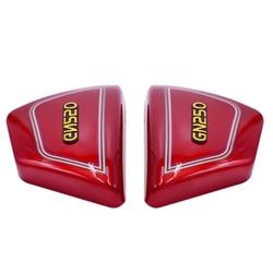 1 para prawy i lewy rama osłony boczne panele dla motocykl suzuki części Gn 250 Gn250 Gn250 motocykl części      -