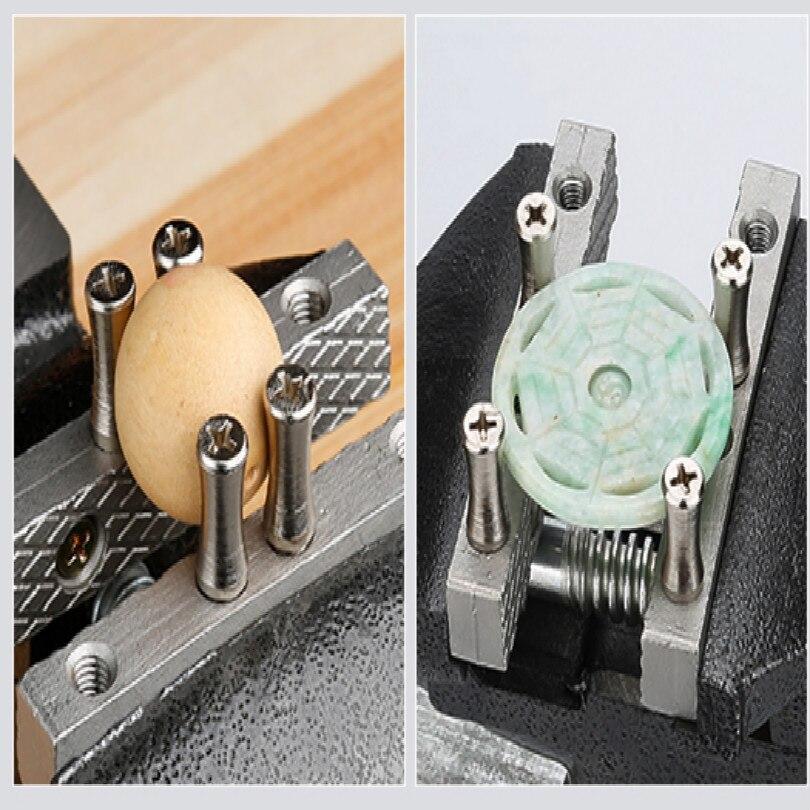 Купить с кэшбэком SMALL workbench vice hobi DIY hobby MINI vise drill press table vise FREE SHIPPING