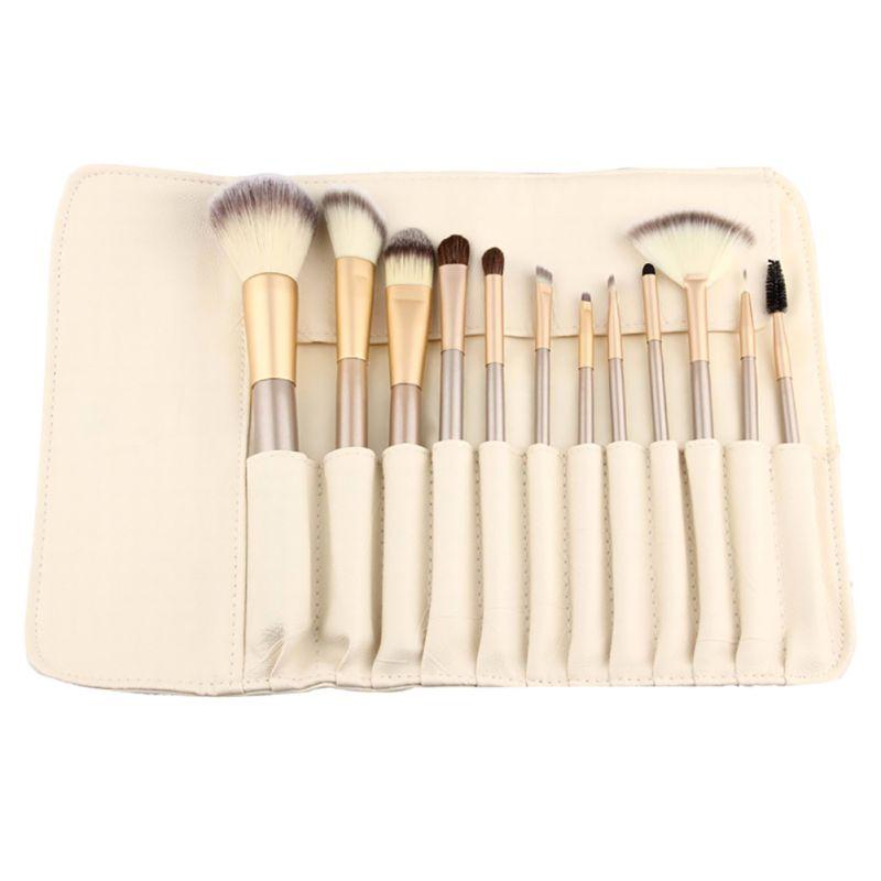 1 Set Professional Makeup Brush Makeup Brush Synthetic Foundation Powder Blush Brush Eyeliner Brushe