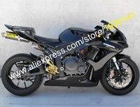 Лидер продаж, 06 07 CBR 1000RR обтекателя комплект для Honda CBR1000RR 2006 2007 Black Aftermarket мотоциклов Обтекатели (Термопластавтоматы)