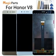 Digitalizador touchscreen para huawei, display de reposição para huawei honor v8 KNT AL20 KNT UL10 KNT AL10 KNT TL00, KNT TL10