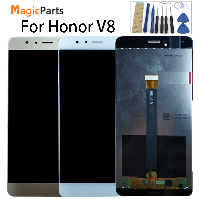 For Huawei Honor V8 KNT AL20 KNT UL10 KNT AL10 KNT TL00 KNT TL10  LCD Display   Touch Screen Digitizer Assembly ReplacementMobile Phone  LCD Screens