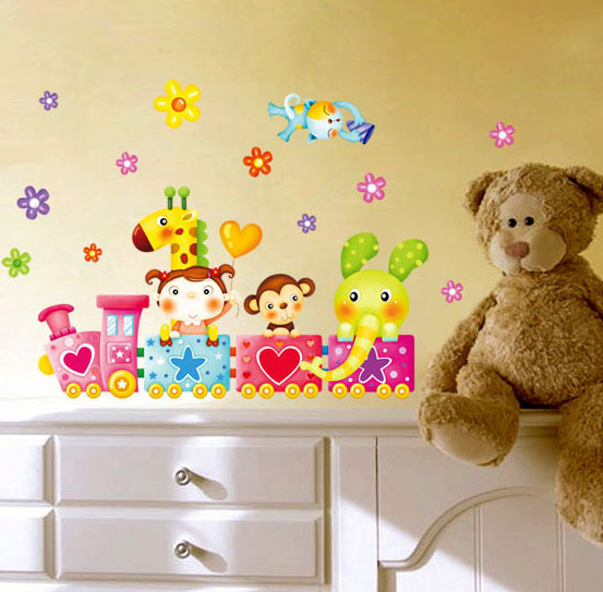 Love tv bedroom wall stickers three-dimensional wall stickers child home stickers
