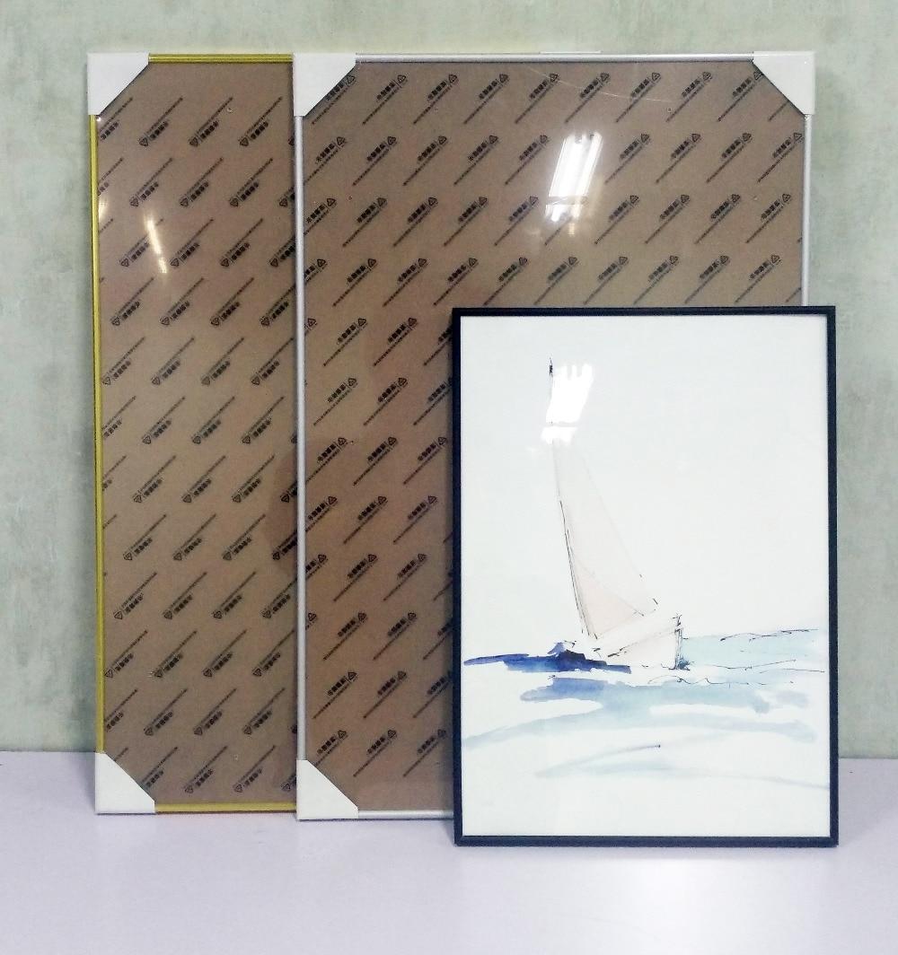 Aluminio clásico marco del cartel Marco de fácil en medio o grande ...