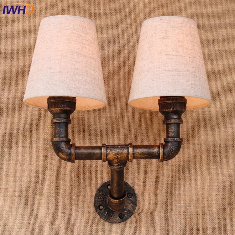 Vintage Wall Lamp Retro Wall Light Loft Luminaire Home Lighting Industrial Wall Sconce Modern 220V Light Fixtures Abajur E27 vintage glass wall lamp light modern sconce fixtures lighting free retro bulb bedroom