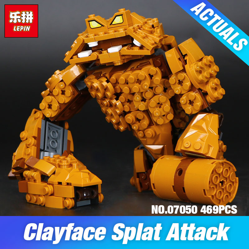 Lepin 07050 New 469Pcs Batman Movie Series The Rock Monster Clayface Splat Attack 70904 Building Blocks Bricks Education Toys smileomg hot sale fashion women crystal stainless steel analog quartz wrist watch bracelet free shipping christmas gift sep 5