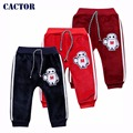 0-24 Месяцев Ребенок одежда мальчиков спортивные брюки для девочек детская одежда детская плюс бархат теплые брюки осенью и зимой T052