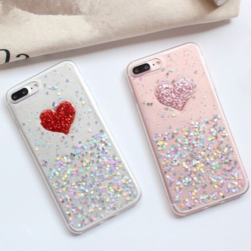 diy iphone case fashion 3d diy bling glitter powder phone cases 10509