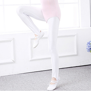 Children Gymnastic Leggings Stirrup Pants Boys Kid Practice Ballet Tights Socks Girls Spandex Yoga Dancing Students Pantyhose 1
