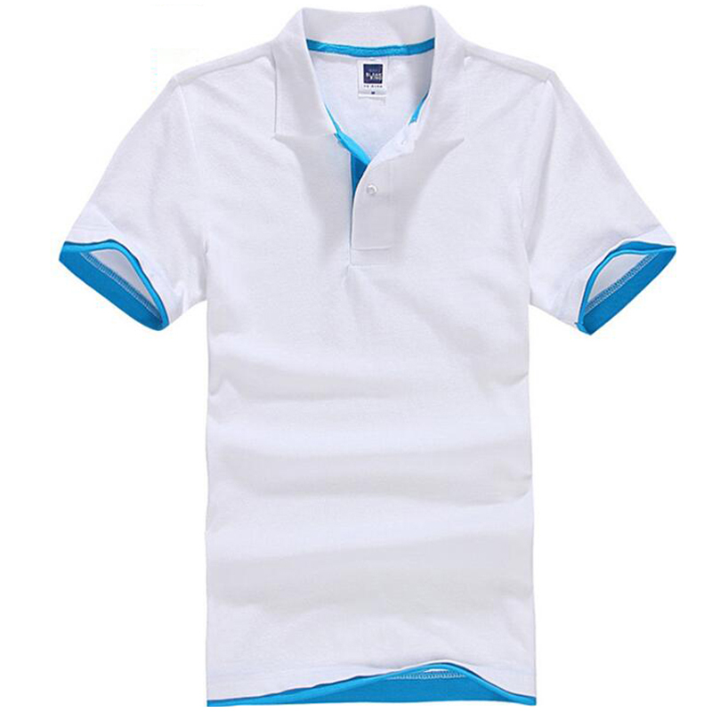 2020 Summer Polo Shirt Men Casual Cotton Solid Color Polos Men's Breathable Short Sleeve Tee Shirt Golf Tennis New Brand Clothes