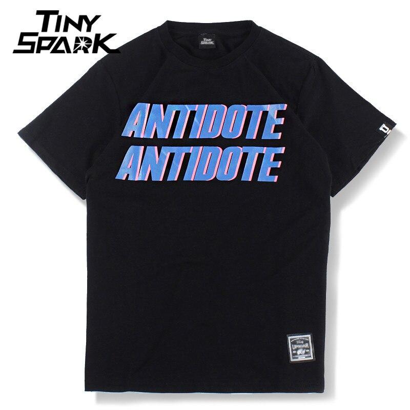 Men T-Shirt Hip Hop Antidote Travis Scott Rapper America Hiphop T Shirt Harajuku Tshirt Streetwear Summer 2018 Tops Tees Cotton