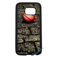 Generation Cool Sporty Sport Basketball Court Orange Ball Case For Samsung Galaxy S3 S4 S5 S6