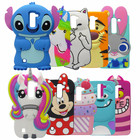 Phone Case For LG K10 LTE M2 F670 Q10 3D Cute Cartoon Minnie Stitch unicorn Sulley Silicone Back Cover For LG K10 2016 Case