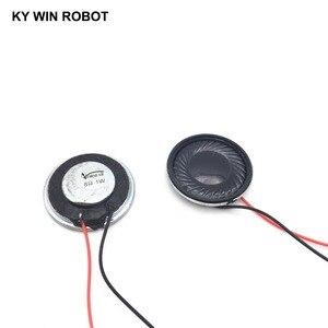 Image 1 - Alto falante ultrafino 8 ohms, 1 w 8r, diâmetro 28mm pçs/lote cm, 2 2.8 espessura 5mm com comprimento do fio 13cm
