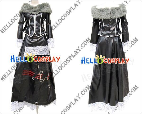 Final Fantasy X Lulu Cosplay Costume H008