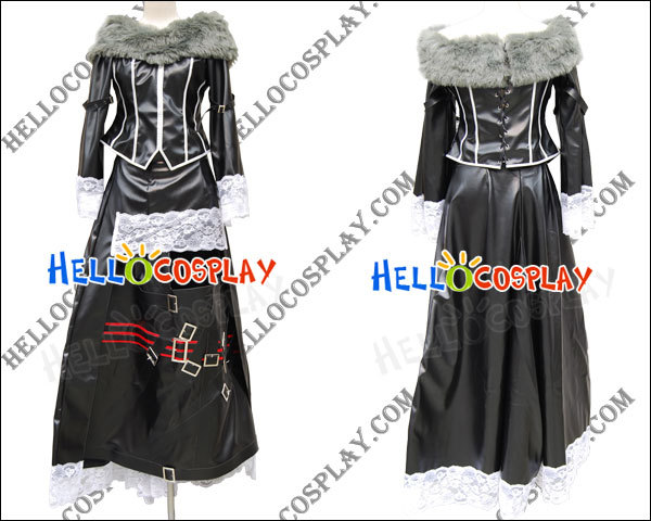 Déguisement Final Fantasy X Lulu Cosplay H008