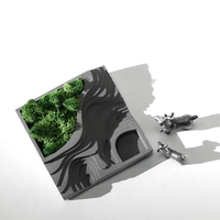 Silicone Mold Cement Molds Terraces Concrete Terraced Fields Muti Meat Flower Planter Mould For Home Decorations