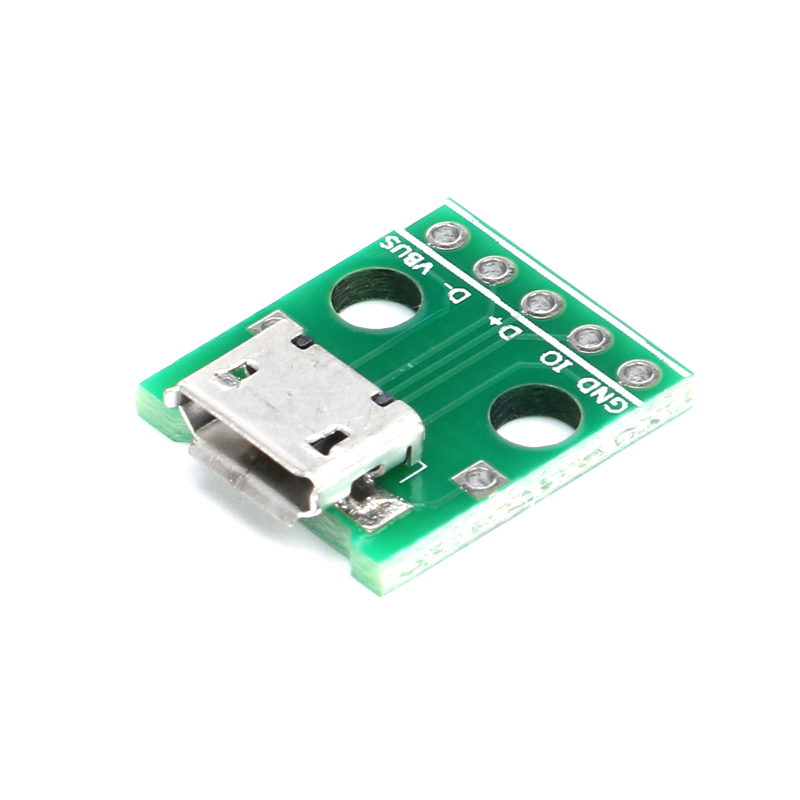 10PCS Type A DIP Female USB To 2.54mm PCB Board Adapter Converter For Arduino J2