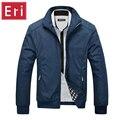 Мужчины Куртка Мужчины Повседневная Slim Fit Отложным Воротником Твердые Куртки Новый мужской Моды Пальто Одежды Плюс Размер XXL 3XL X367