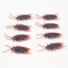 8 pcs/set interesting toys Flies Cockroaches Centipede Gecko Scorpions lizard toys novelty products funny gadgets gag gift desk