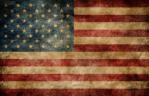 retro USA flag printed baby backdrops for photo studio The stars and stripes background for newborn photography D-9997 stars and stripes flag jeans quartz watch