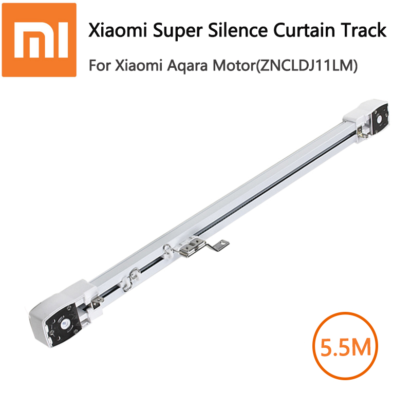 Original Xiaomi Aqara / Dooya KT82 / DT82 Engine Customizable Super Ganz Electric Curtain Track For Smart Home For 5.5m Or Few
