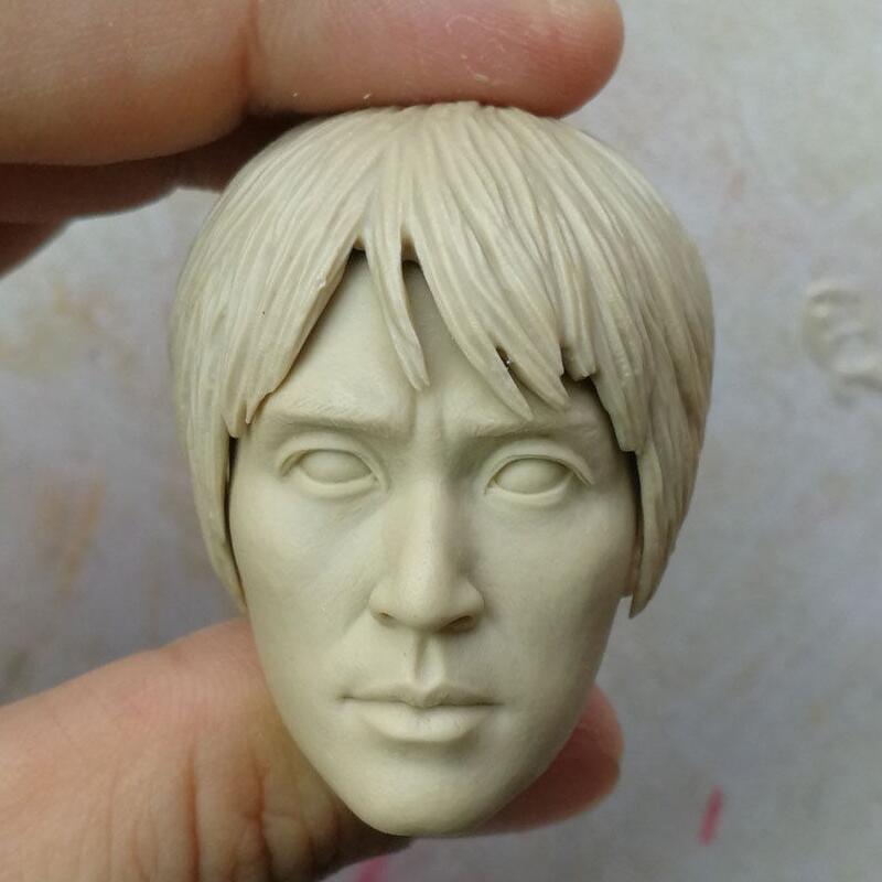 "Custom blank Hot 1//6 scale Head Sculpt unpainted For 12/"" Hot Toys Figure TA-5"