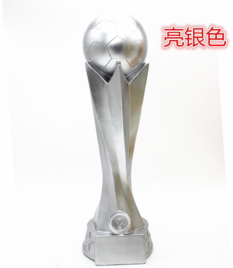 Trophy creative resin trophies Customize football cup basketball game Golden ball striker cup printing for free 10 piece 30cm u channel ball cup kit transmit delivery for pupil playing fun game sport meeting outdoor experiential development