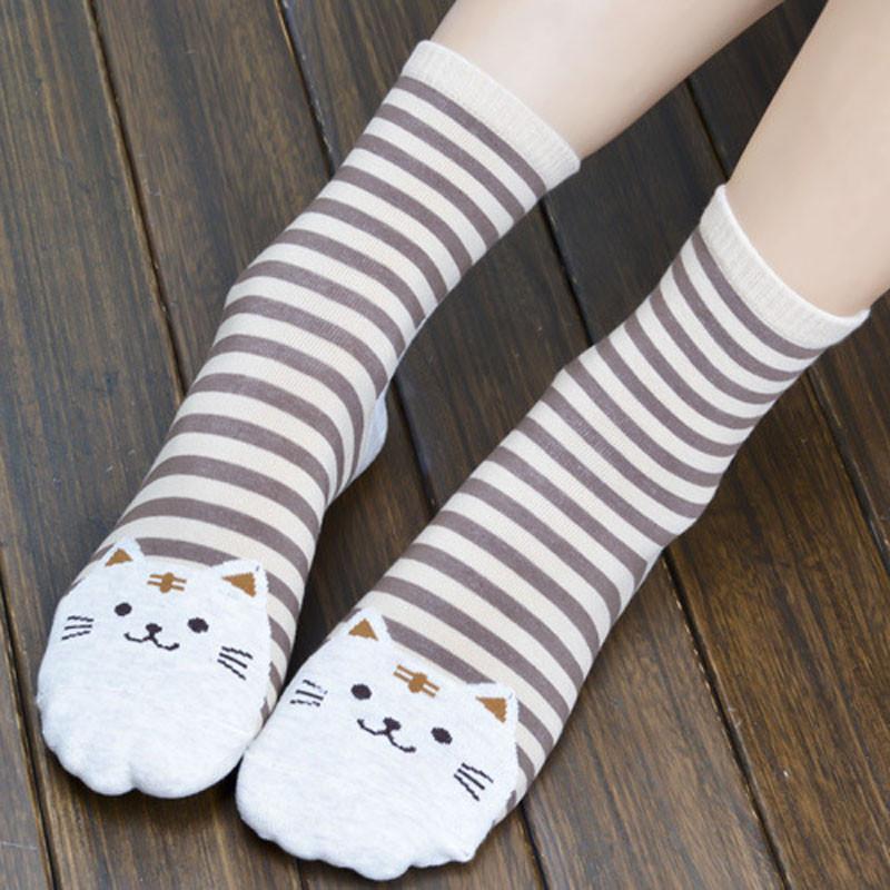 Cute Socks With Cartoon Cat For Cat Lovers Cute Socks With Cartoon Cat For Cat Lovers HTB1NmseQVXXXXaJXVXXq6xXFXXXQ