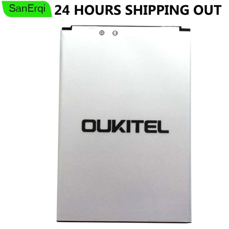 SanErqi Pour Oukitel K4000 Batterie de Haute Qualité Batterie Pour Oukitel K4000 Téléphone Intelligent Batterie