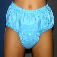 Pants Diaper Incontinence-Pants Disposable Adult Waterproof XXL for Fuubuu2211-Blue-Xxl-1pcs