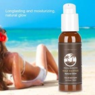 Suntan Cream Color Stay Bronze Self Sun Tan Tanning Enhance Day Tanning Cream Natural Bronzer Sunscreen Tanner Lotion Freeship