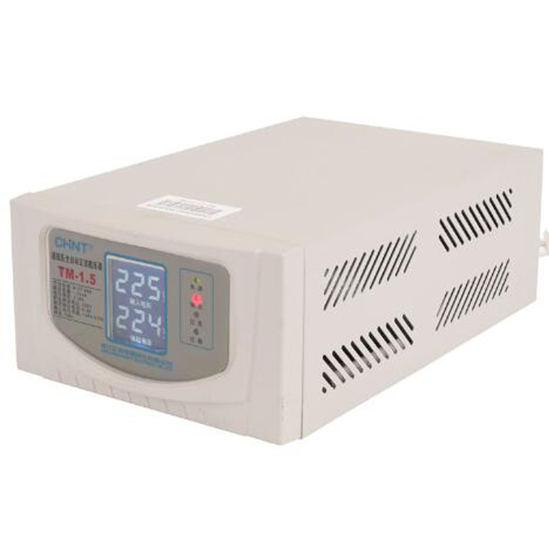 Voltage Regulator 220v Fully Automatic Household 1500w Small Regulated Power Supply TM-1.5Voltage Regulator 220v Fully Automatic Household 1500w Small Regulated Power Supply TM-1.5