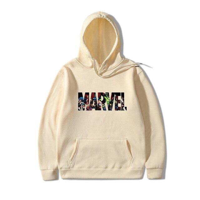2019 New Marvel Hoodies Men Brand Suprem Japanese Hooded Sweatshirt Mens Hoodie Tracksuit Sweat Coat Casual Sportswear 1