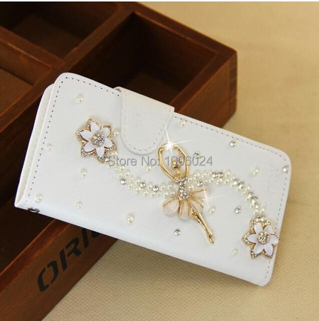 47db6be84b With Tracking Number For OPPO R821 mobile phone case cell phone bags of  protective sets drill shell flip PU cover