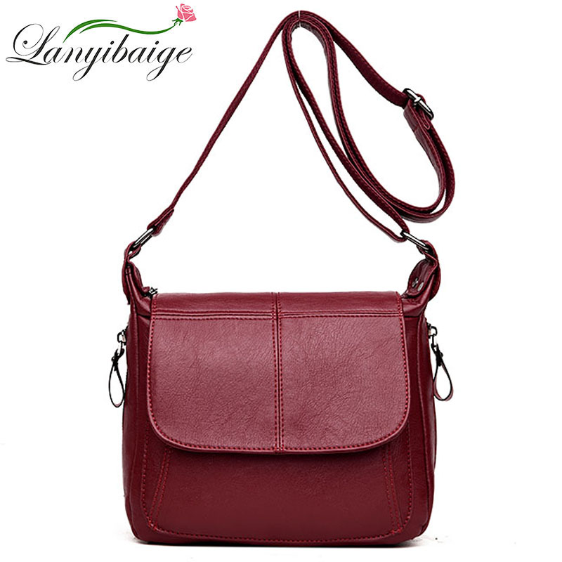 Women Leather Bags Designer Crossbody Bags Fashion Luxury Handbags For Women 2019 Shoulder Bag Female Purses And Hand bags Bolsa