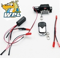 WPL Newest Electric winch WPL Original Upgrade Part for WPL B 16 B 24 C24 B16 DIY newest spot for 1:12 RC track