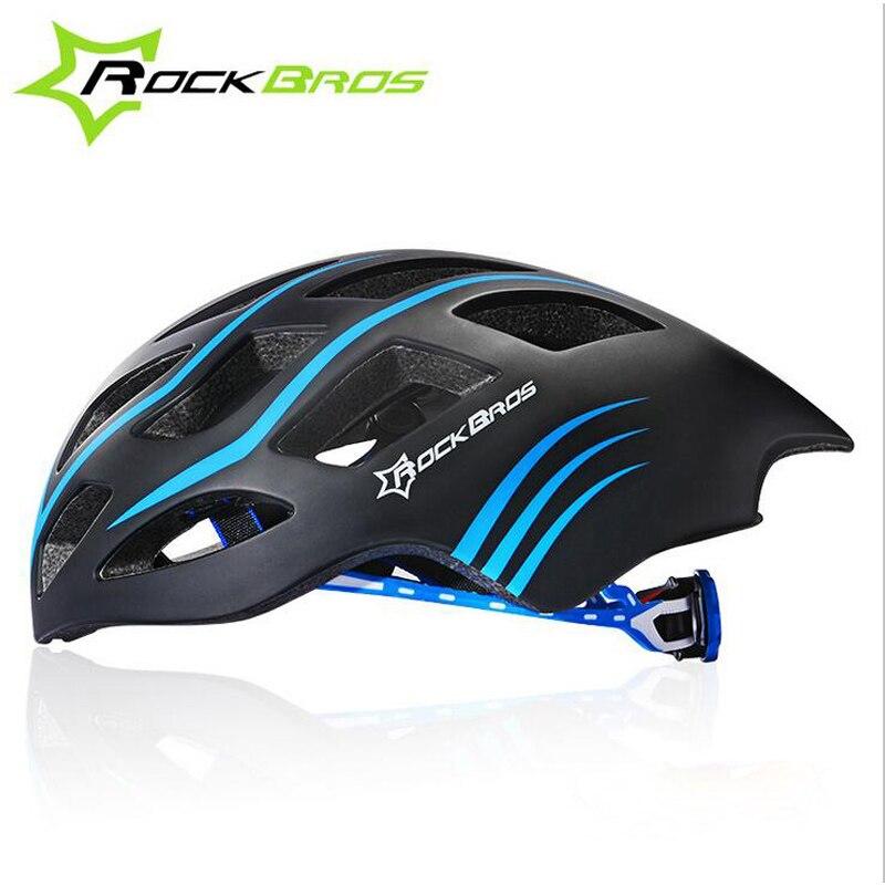 ФОТО ROCKBROS Integrally-molded Bicycle Helmet Comfortable,Protector MTB Bike Helmet Men EPS Breathable Cycling Helmet