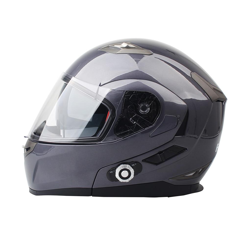 2017 New FreedConn Smart Bluetooth Helmet Built in Intercom System Support 2 riders Talking and FM Motorcycle BT Interphone