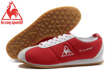 Le Coq Sportif Men's Running Shoes,High Quality Embroidery Logo Le Coq Sportif Men's Athletic Shoes Sneakers Red Color3 Hot Sale