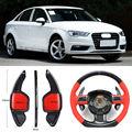 Карбоновое волокно шестерни DSG руль весло переключения крышка подходит для Audi A3 2013-2016