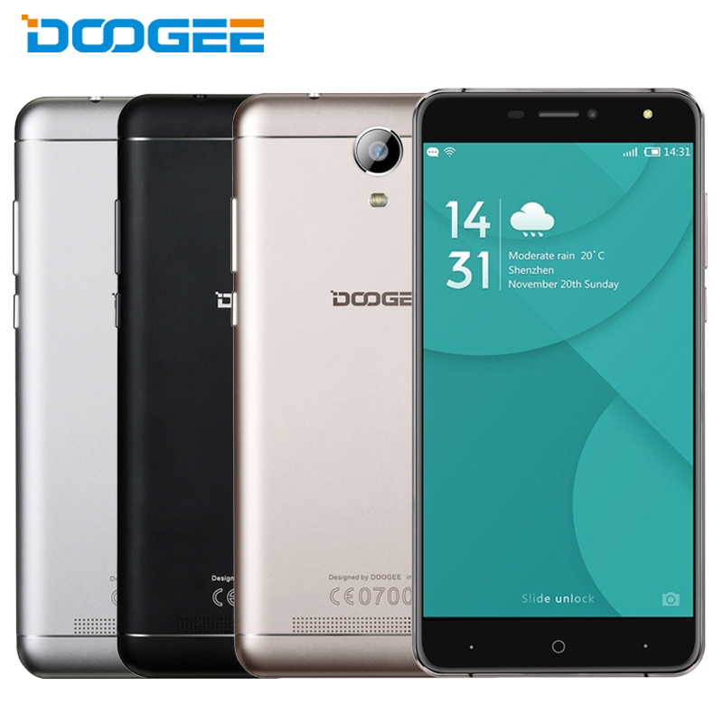 Original Doogee X7 Pro 4G Mobile Phone RAM 2GB ROM 16GB MTK6737 Quad Core 6 0
