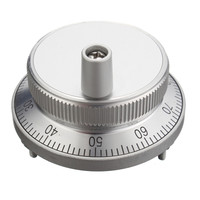 CNC Pulser Handwheel Handle Kit 5V Manual Pulse Generator CNC Machine 60mm Rotary Encoder Electronic Resolution